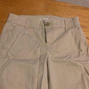 Old Navy chino uniform pants